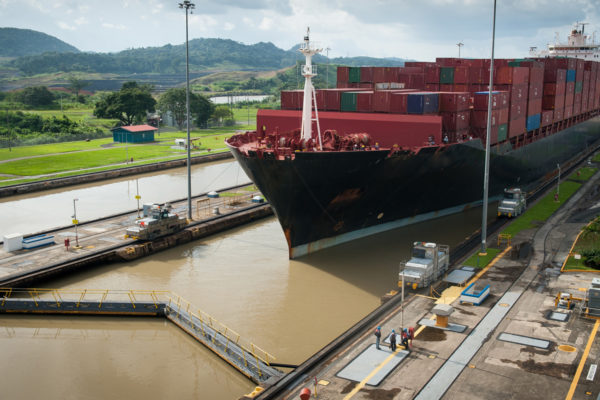 Reistip Jaimie Panama Suez Kanaal Sluis